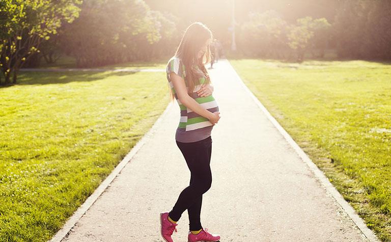 Coach pour entraînement sportif pendant la grossesse